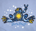 Peace Frogs Junior Night And Day Long Sleeve T-Shirt