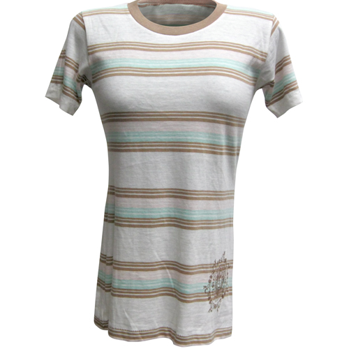 Peace Frogs Junior Mystical Stripe Short Sleeve T-Shirt