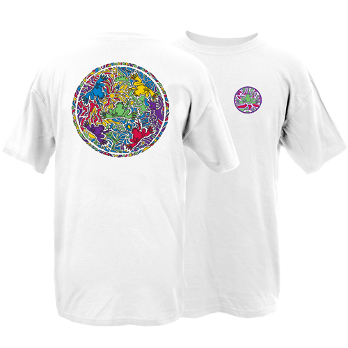 Peace Frogs Adult Spectrum Short Sleeve T-Shirt