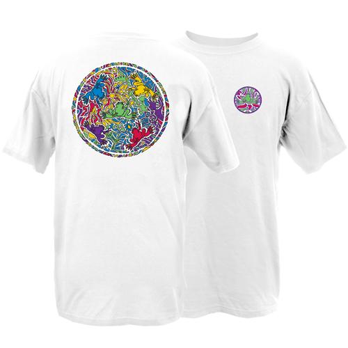 Peace Frogs Adult Spectrum Short Sleeve T-Shirt