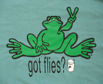 Peace Frogs Adult Milk Garment Dye Short Sleeve T-Shirt