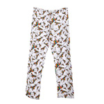 Peace Frogs Adult Retro Pajama Loungepant