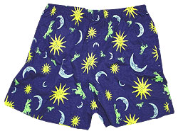 Peace Frogs Kids Celestial Boxer