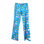 Peace Frogs Adult Wasting Away In Paradise Pajama Loungepant