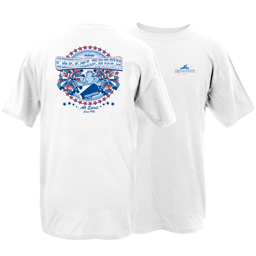 Peace Frogs Adult Cheerleading Short Sleeve T-Shirt