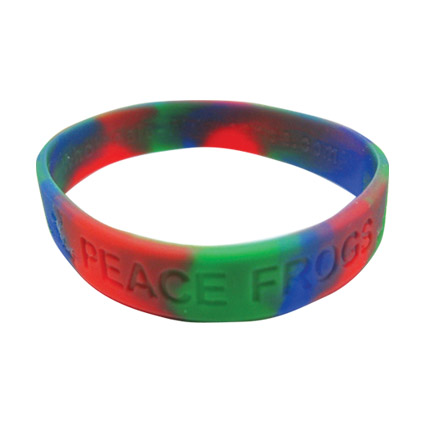Peace Frogs Wristband