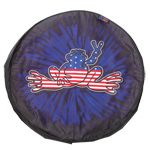 Peace Frogs Tire Cover