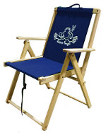 Peace Frogs Deck Chair