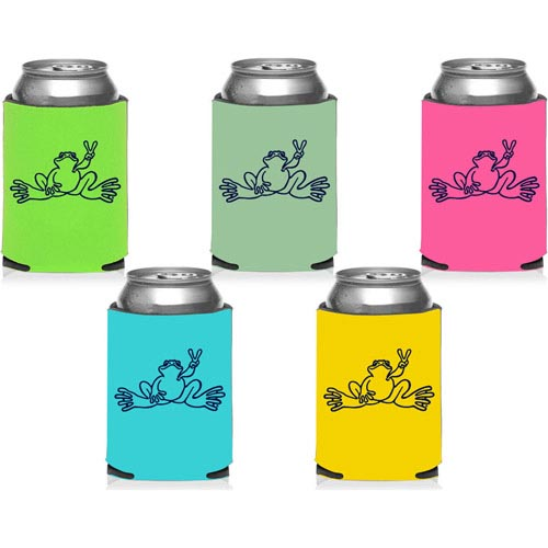 Peace Frogs Can Coolers