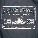 Peace Frogs Adult Outfitters Short Sleeve T-Shirt