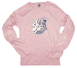 Peace Frogs Ski Junior Long Sleeve T-Shirt