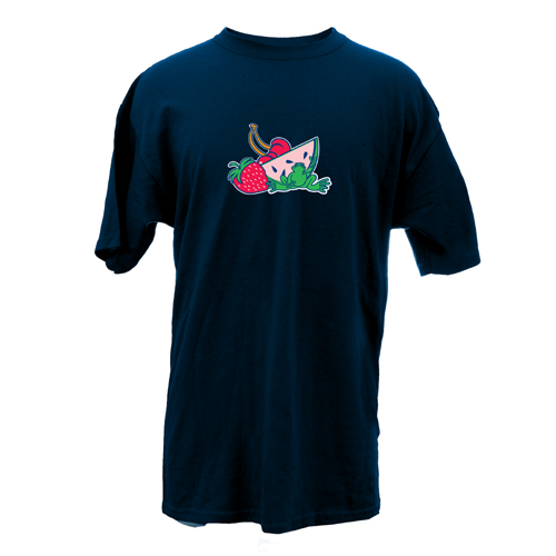 Peace Frogs Adult Fruit Short Sleeve T-Shirt