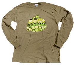 Peace Frogs Outdoor Peace Adult Long Sleeve T-Shirt