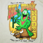 Peace Frogs Adult Bull Frog Short Sleeve T-Shirt