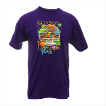 Peace Frogs Adult Retro Knows Peace Short Sleeve T-Shirt