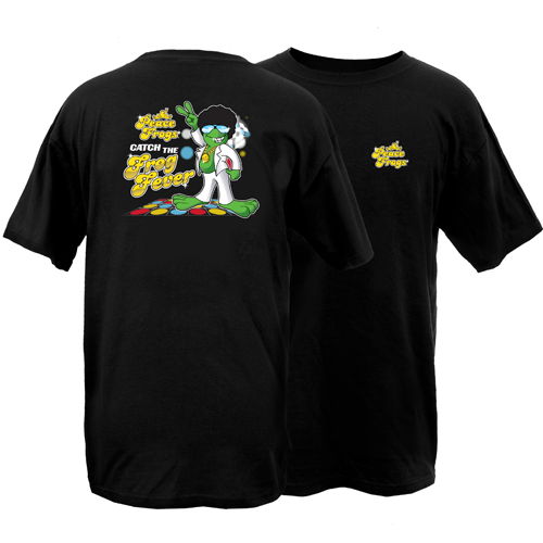 Peace Frogs Adult Frog Fever Short Sleeve T-Shirt