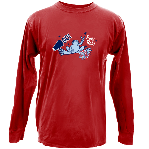 Peace Frogs Pep Rally Long Sleeve Kids T-Shirt