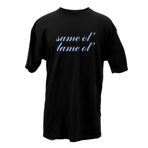 Beyond The Pond Adult Same Ol, Lame Ol Short Sleeve T-Shirt