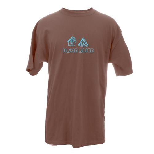 Beyond The Pond Adult Home Slice Short Sleeve T-Shirt