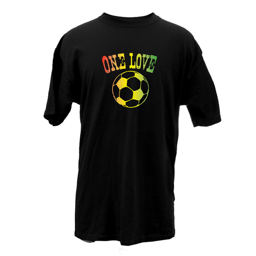 Beyond The Pond Adult One Love Soccer Short Sleeve T-Shirt