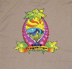 Peace Frogs Adult Frogabunga Short Sleeve T-Shirt