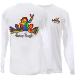 Classic White Long Sleeve T-Shirts