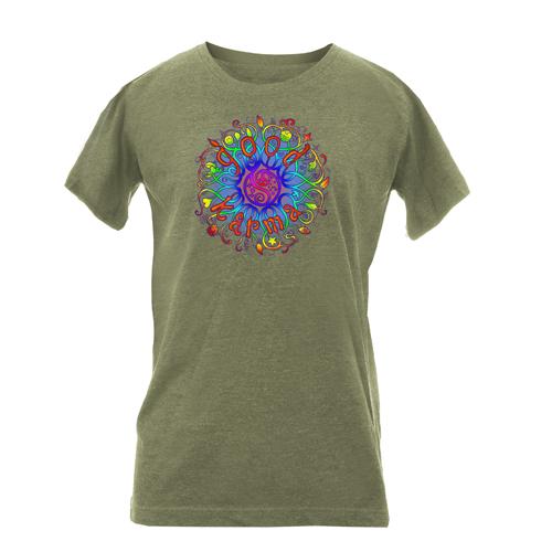 Vintage Heathered Ladies Cut Short Sleeve T-shirts