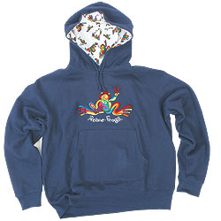 Hooded Pullover Embroidered Sweatshirts